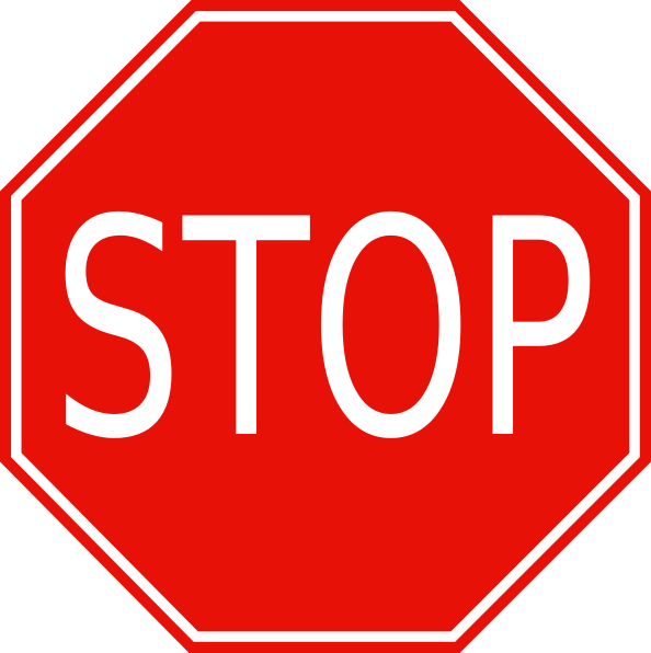 Obsessed image for printable stop sign