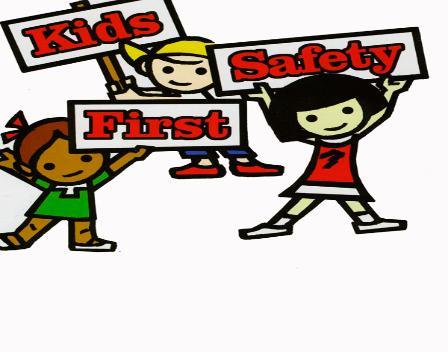 Kids Safety Clip Art