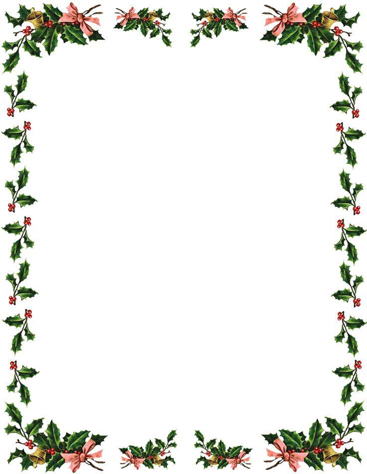microsoft word christmas borders