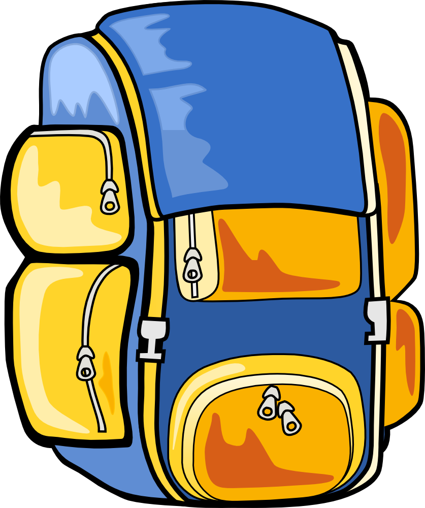 Backpack Clipart - Cliparts.co