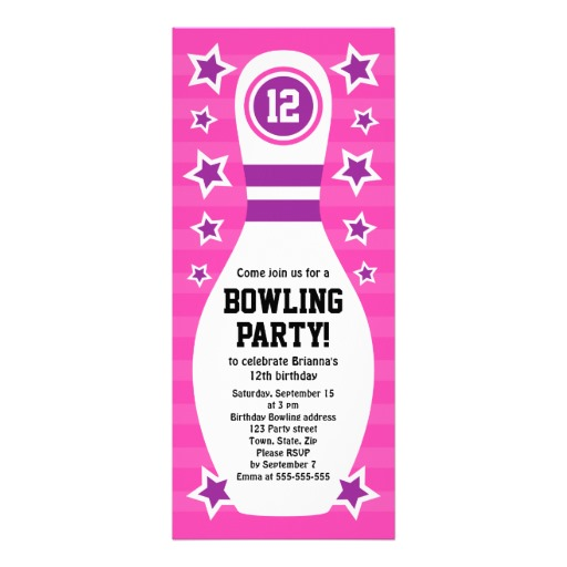Free Printable Bowling Party Invitation Templates Clipartsco – Party Invitations for Free