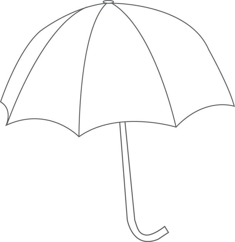 Peaceful image with regard to printable umbrella template