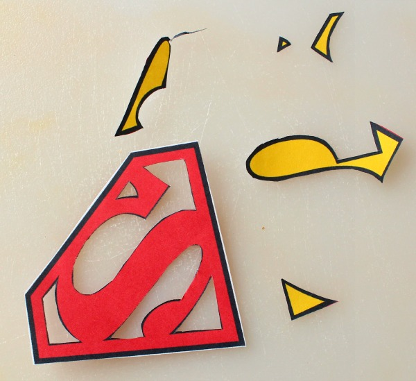 Superman symbol template clipartsco for Superman logo template for cake