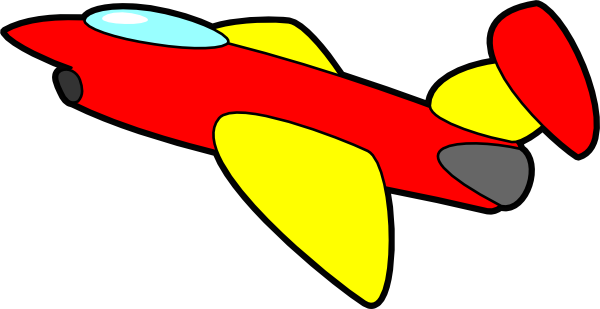 Jet Cartoon clip art -...