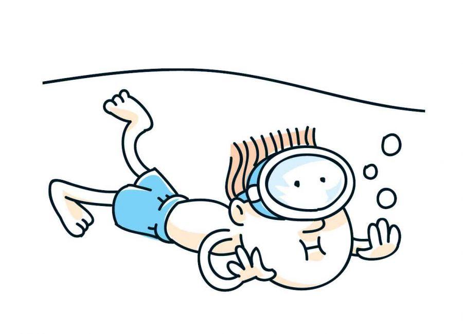 Cartoon Person Swimming Cliparts Co