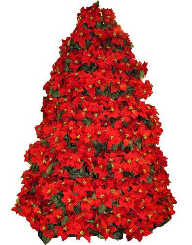 Dj christmas lady inc frame trees spring hill fl for Poinsettia christmas tree frame