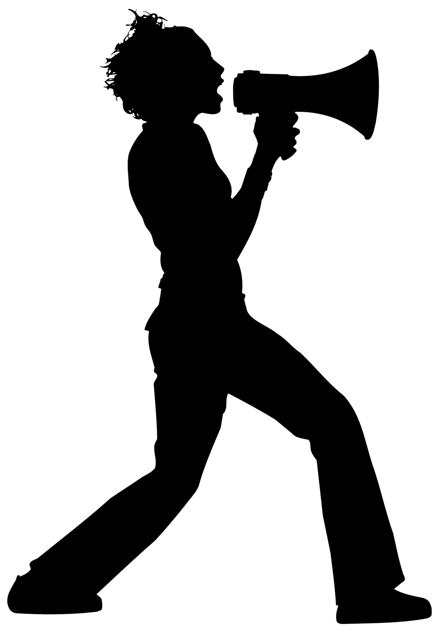 clipart man with megaphone - photo #41