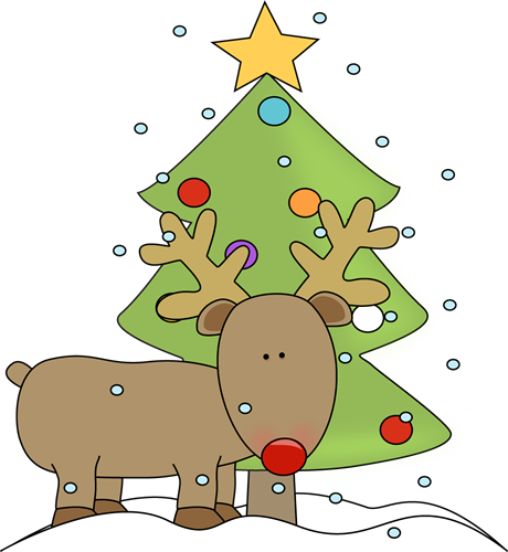 Christmas Reindeer Pictures - Cliparts.co