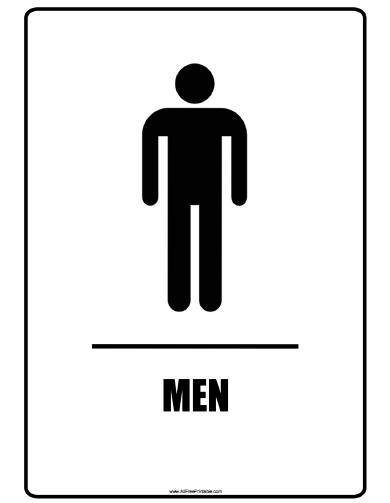 Free printable restroom signs, download free clip art, free clip.