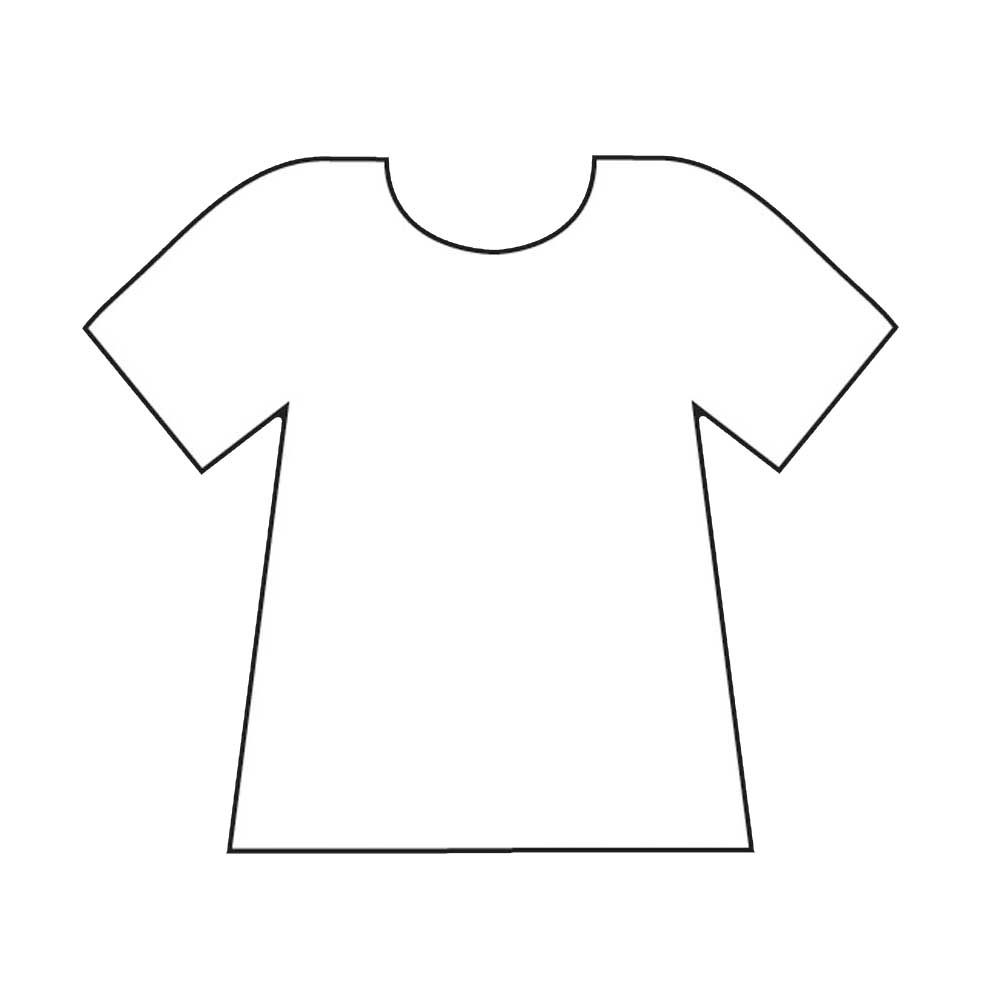 Football template for Football t shirt cake template