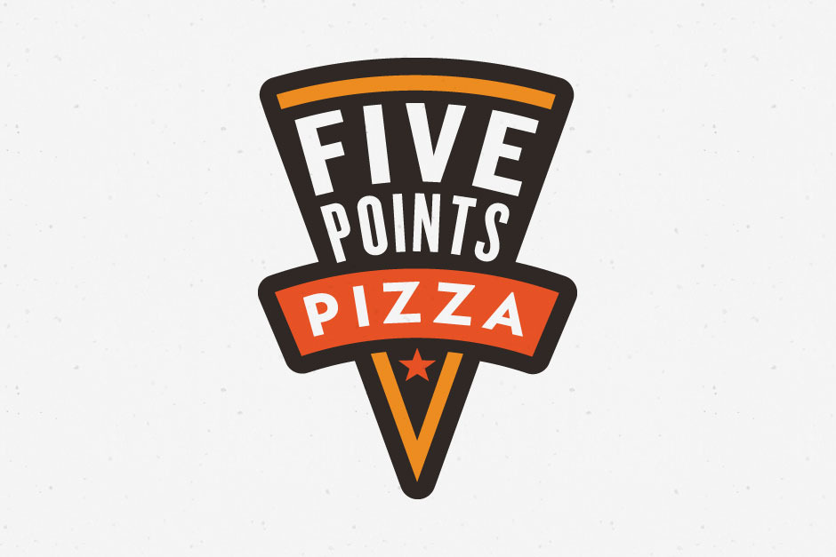 Five Points Pizza - Stevaker™ | Visual Designer & Identity Specialist