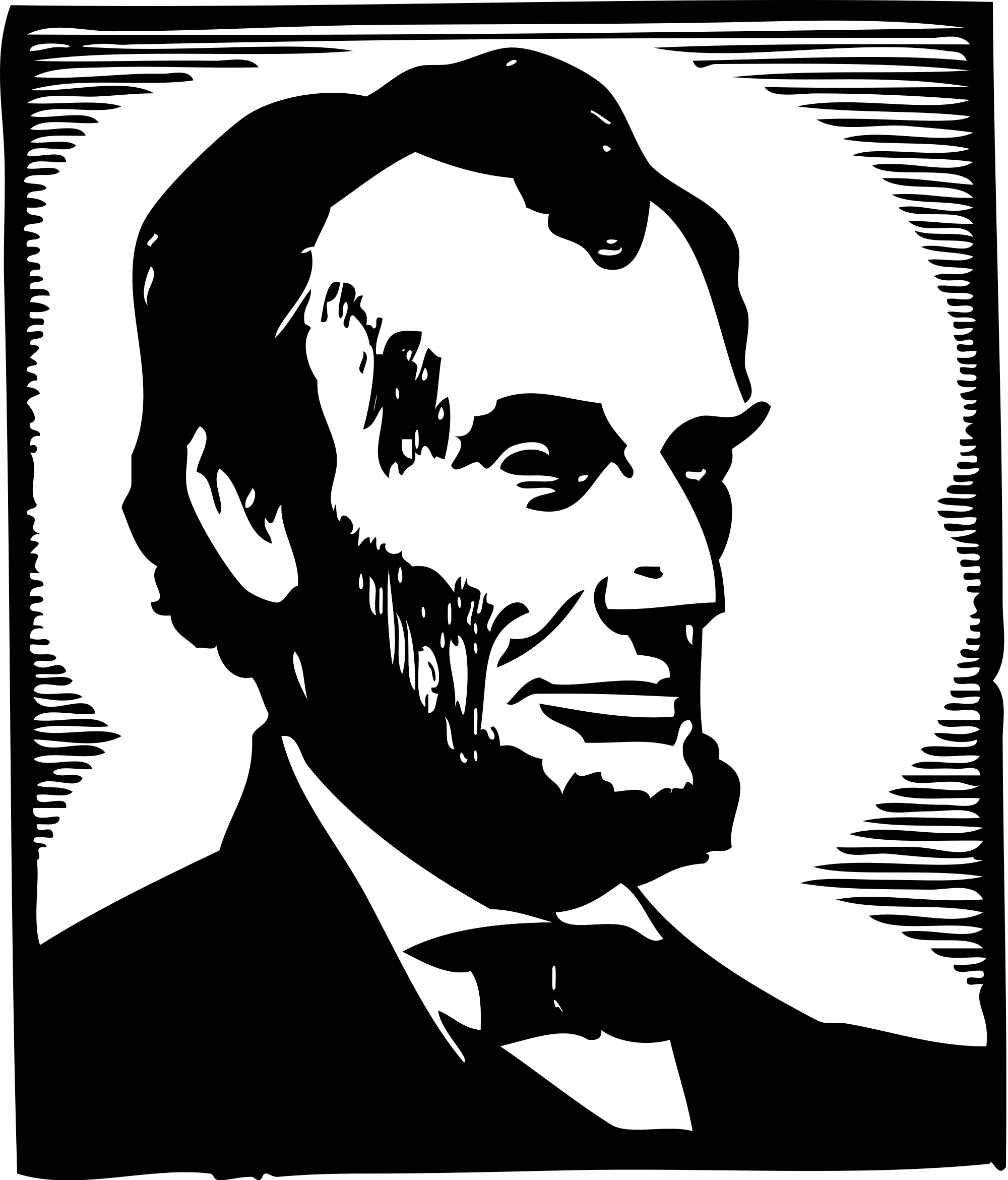 File:Abraham Lincoln clip art.svg - Wikimedia Commons