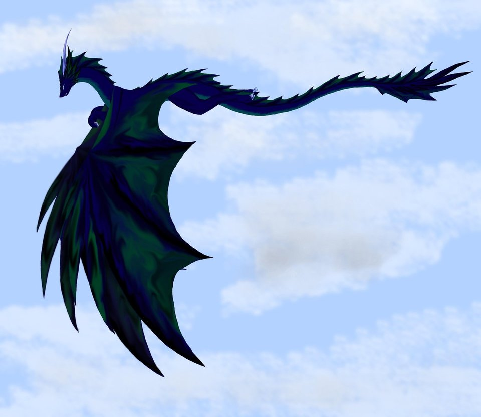 Flying Dragon - Cliparts.co