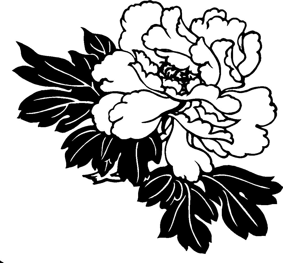 Single Line Clipart : Single flower clip art cliparts