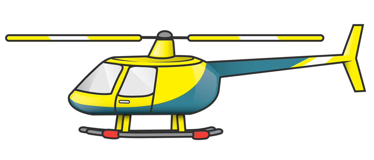 Medical Helicopter Clipart