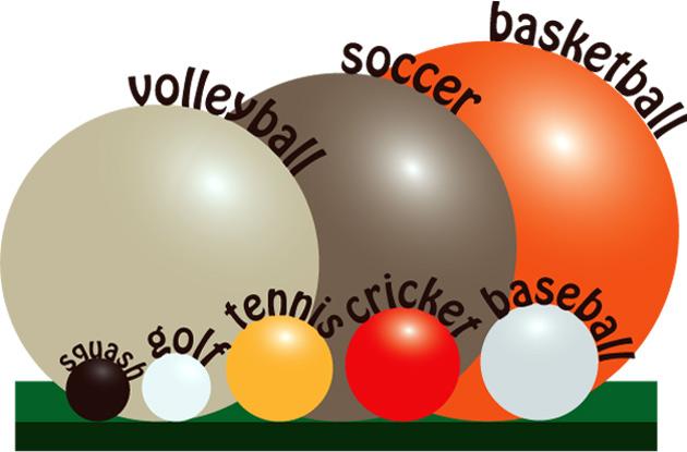 Tennis Ball Size 21