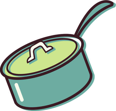 Cooking Pot Black And White Clipart - Free Clip Art Images