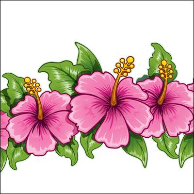 Hawaiian Flowers - Cliparts.co