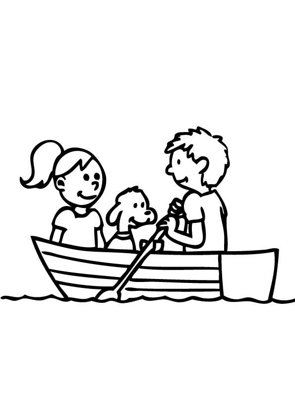 free clip art rowboat - photo #47
