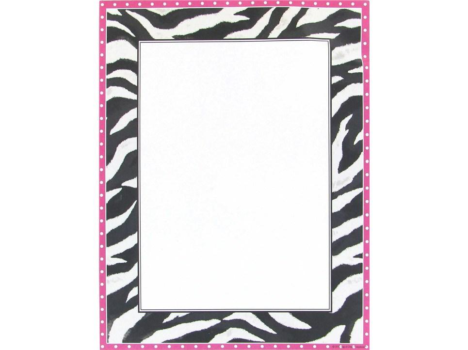 Zebra Border Clip Art ...