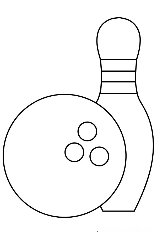 bowling green logo coloring pages - photo#1