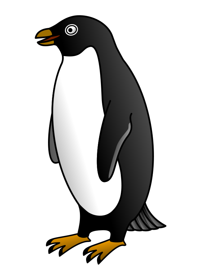 Penguin Clip Art Pattern
