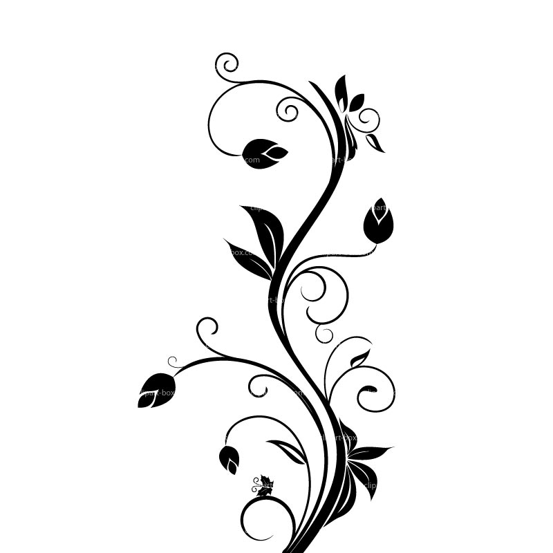 Tattoo borders designs cliparts co - Floral Clipart Designs Cliparts Co