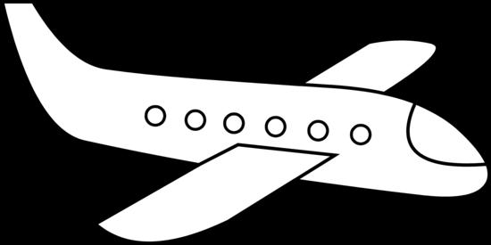 Cute Simple Line Art : Cute simple airplane line art free clip cliparts