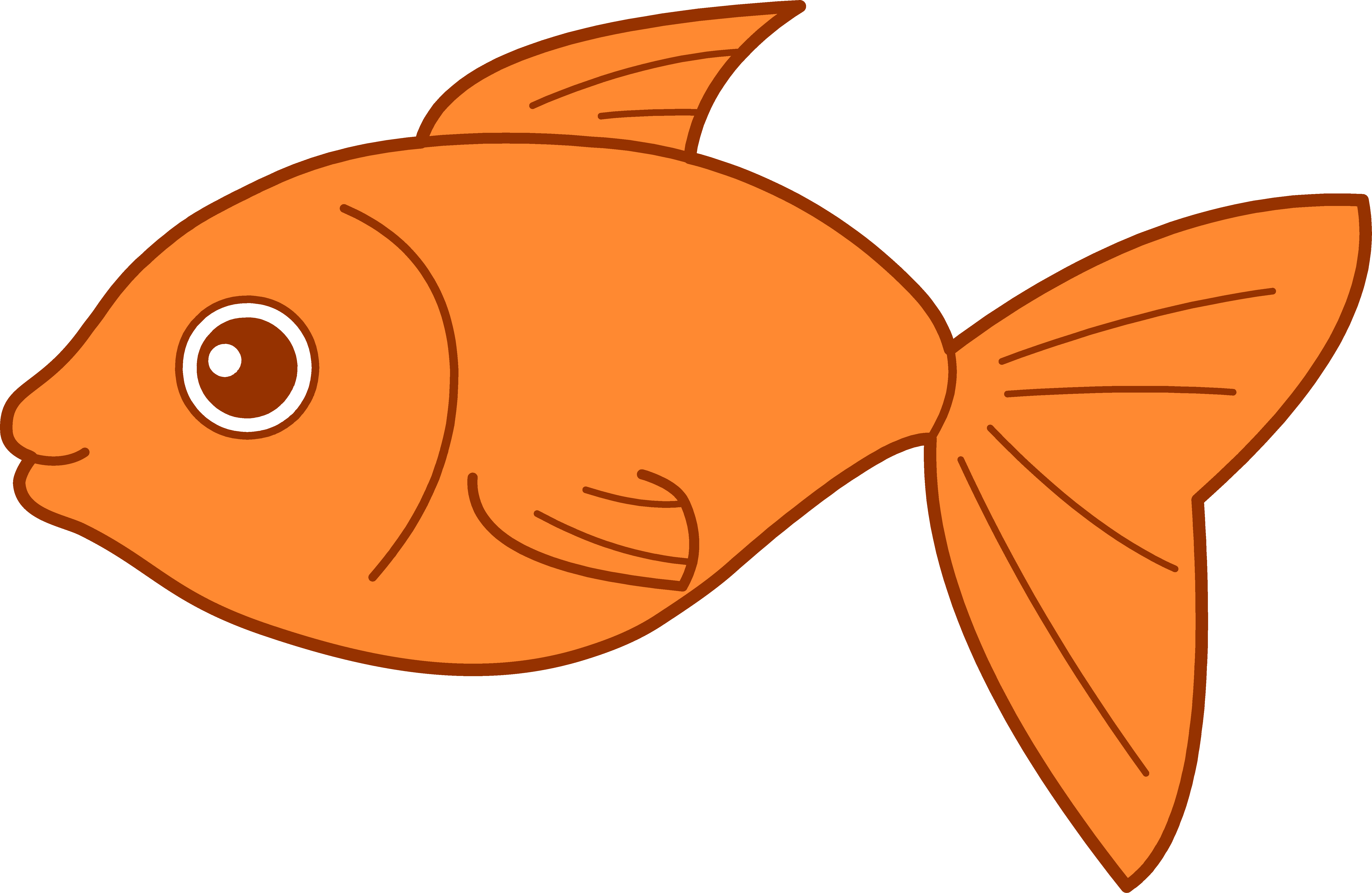 Cute fish clipart...68...