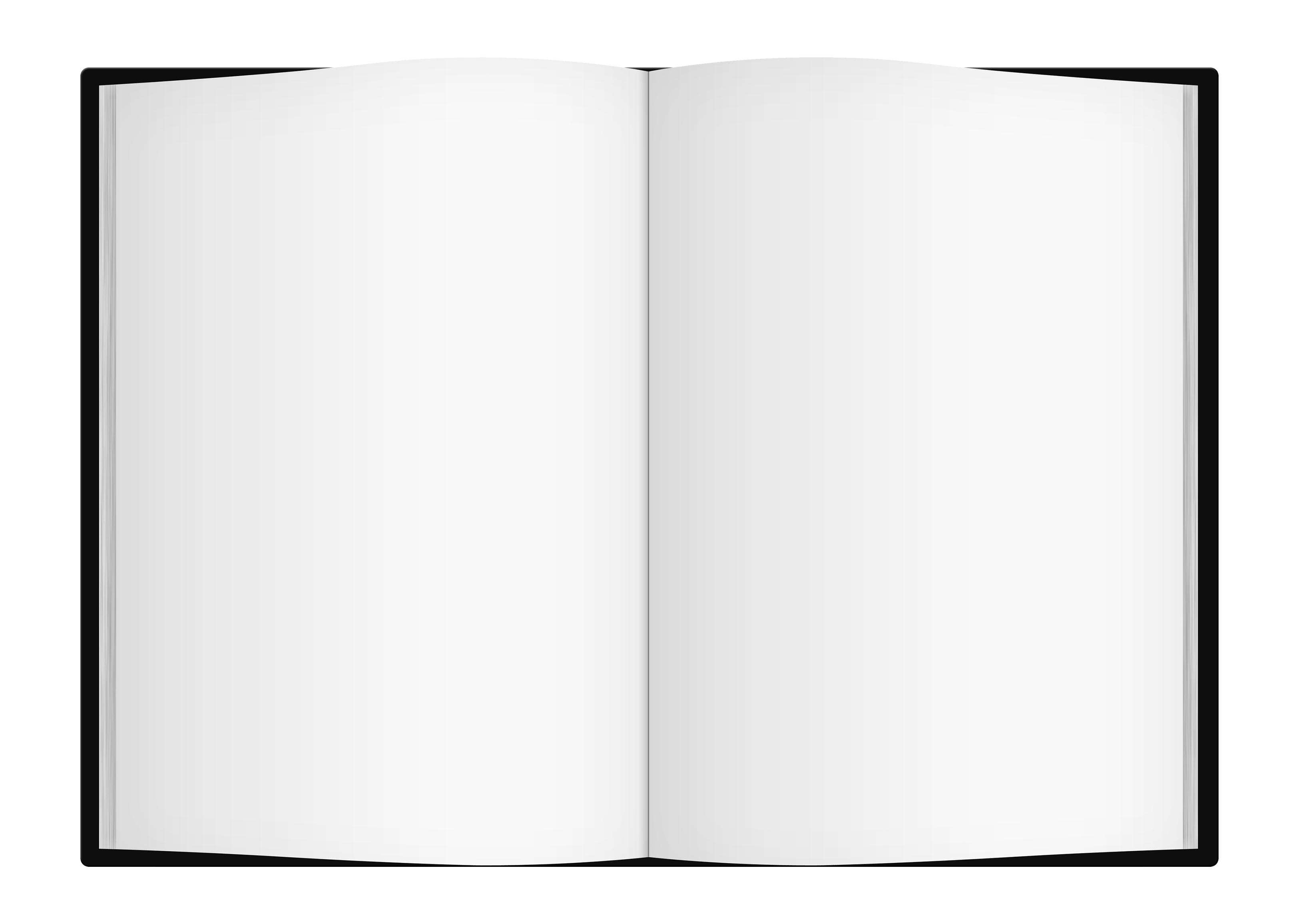 Book Cover Template Png ~ Picture of open book cliparts