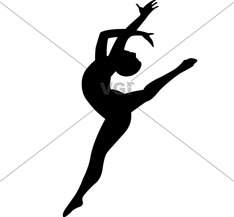 Dancer Clipart Silhouette Leap | www.imgkid.com - The ...
