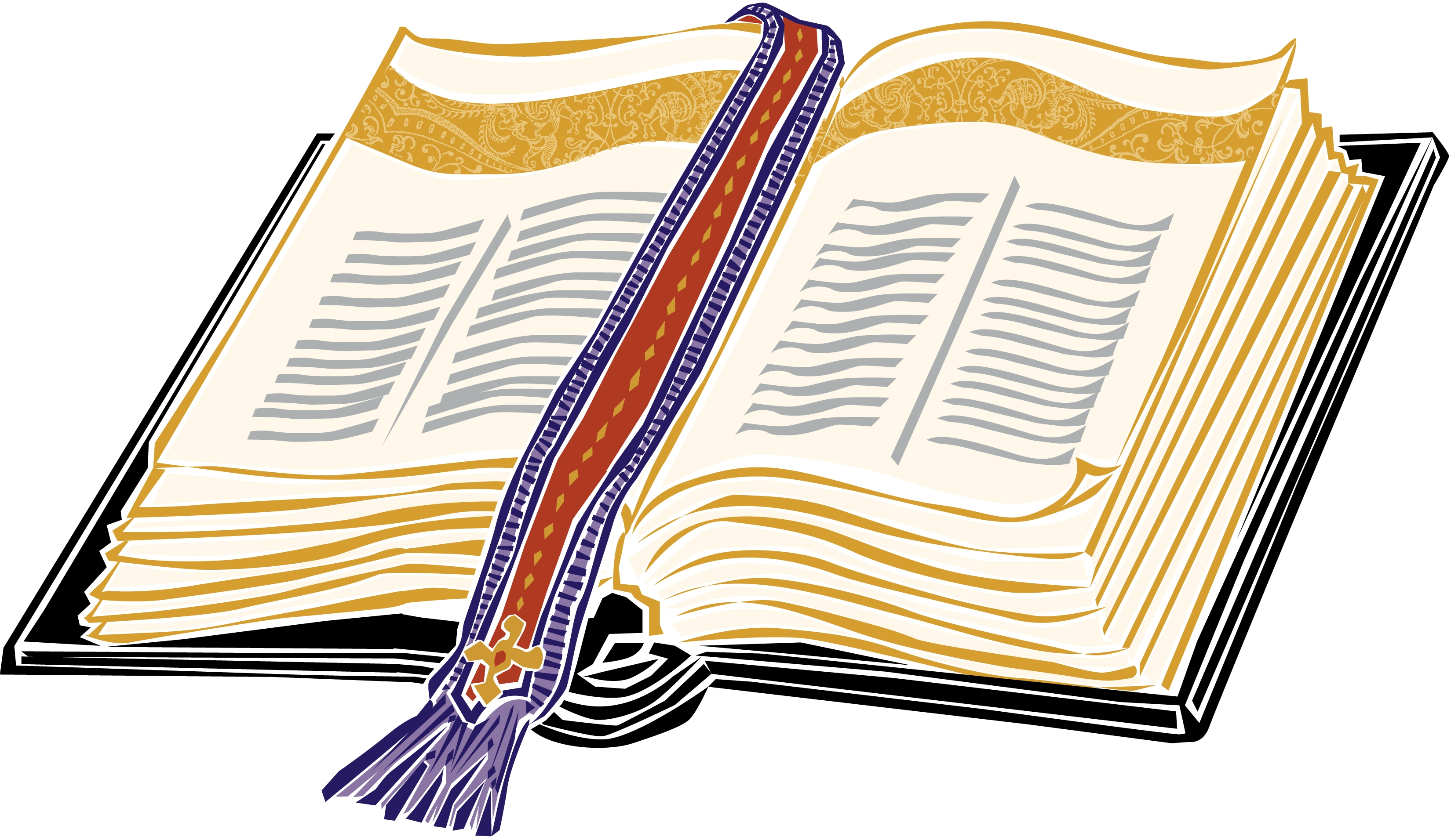 Open Bible Clipart - Cliparts.co