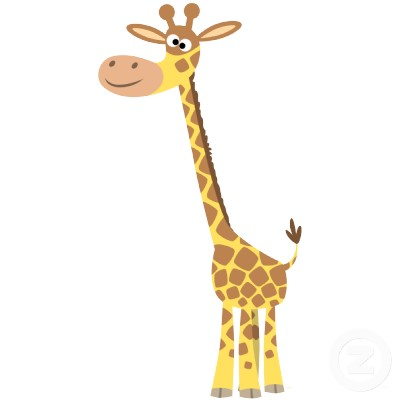 Giraffe Cartoon - Cliparts.co