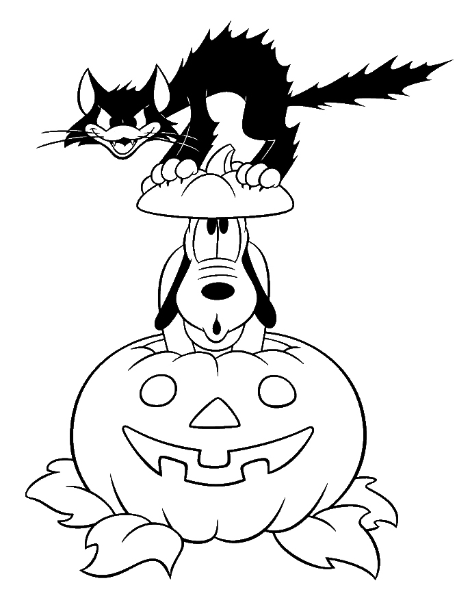 Halloween Black And White Pictures - Cliparts.co