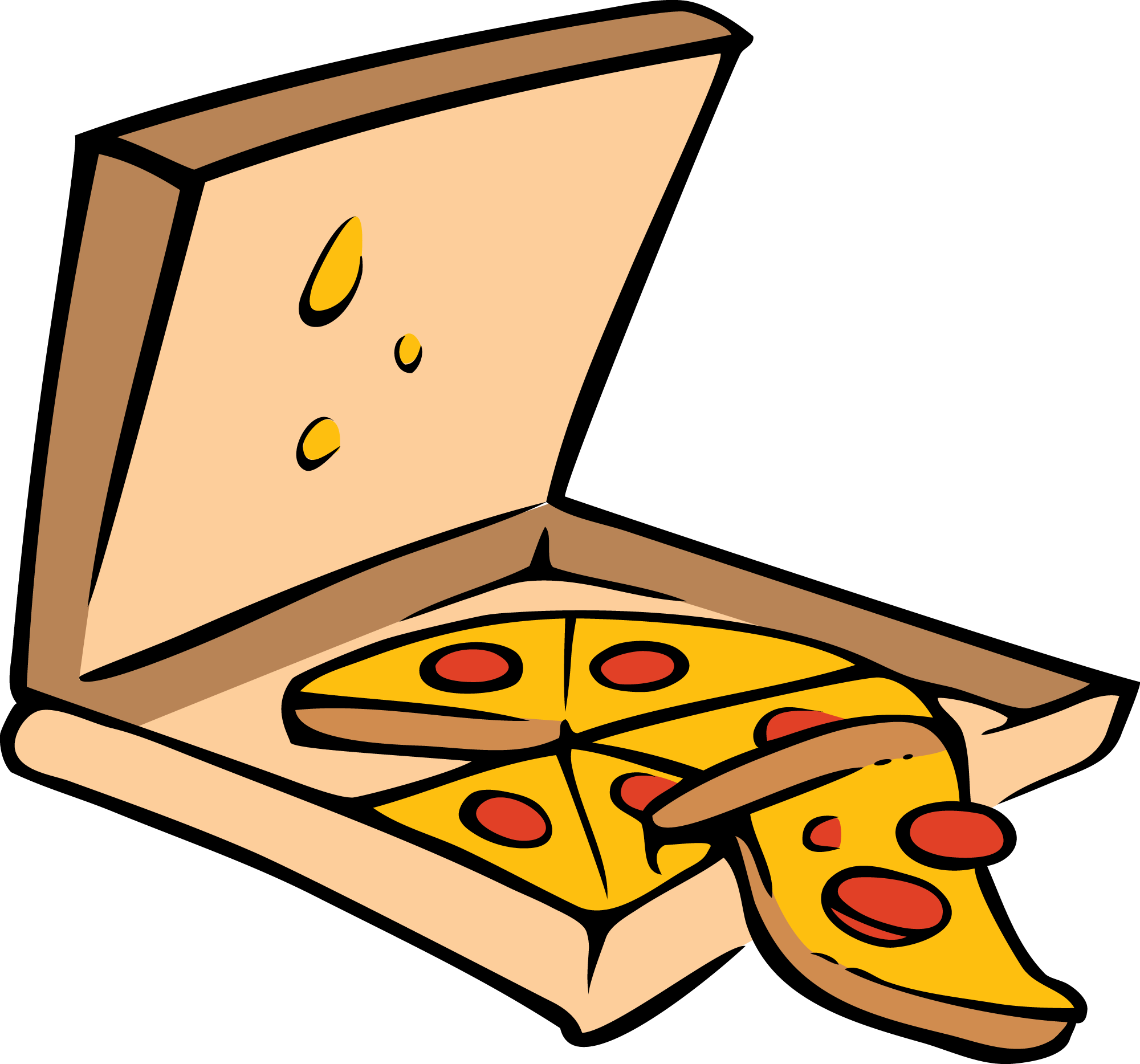 cheese pizza clipart free - photo #16