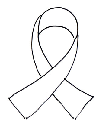 Breast Cancer Ribbon Coloring Sheet - ClipArt Best