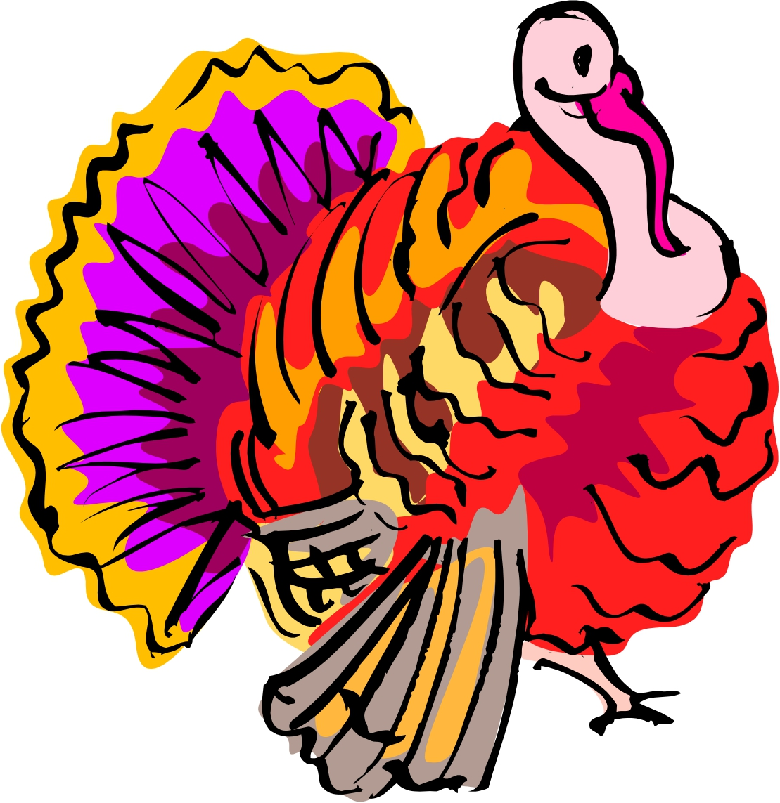 free clip art animated thanksgiving - photo #45