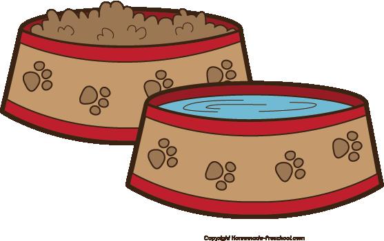 clipart dog bowl - photo #3