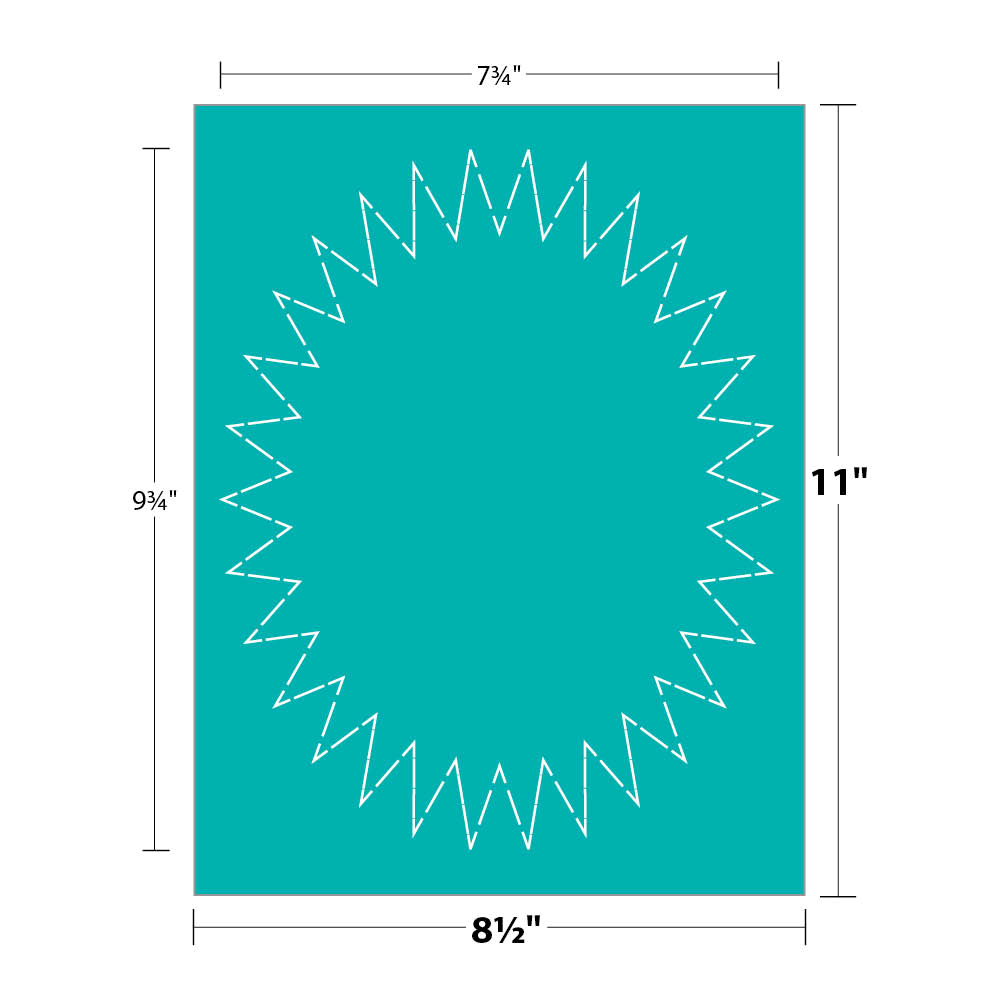 Starburst Sign Template Cliparts Co