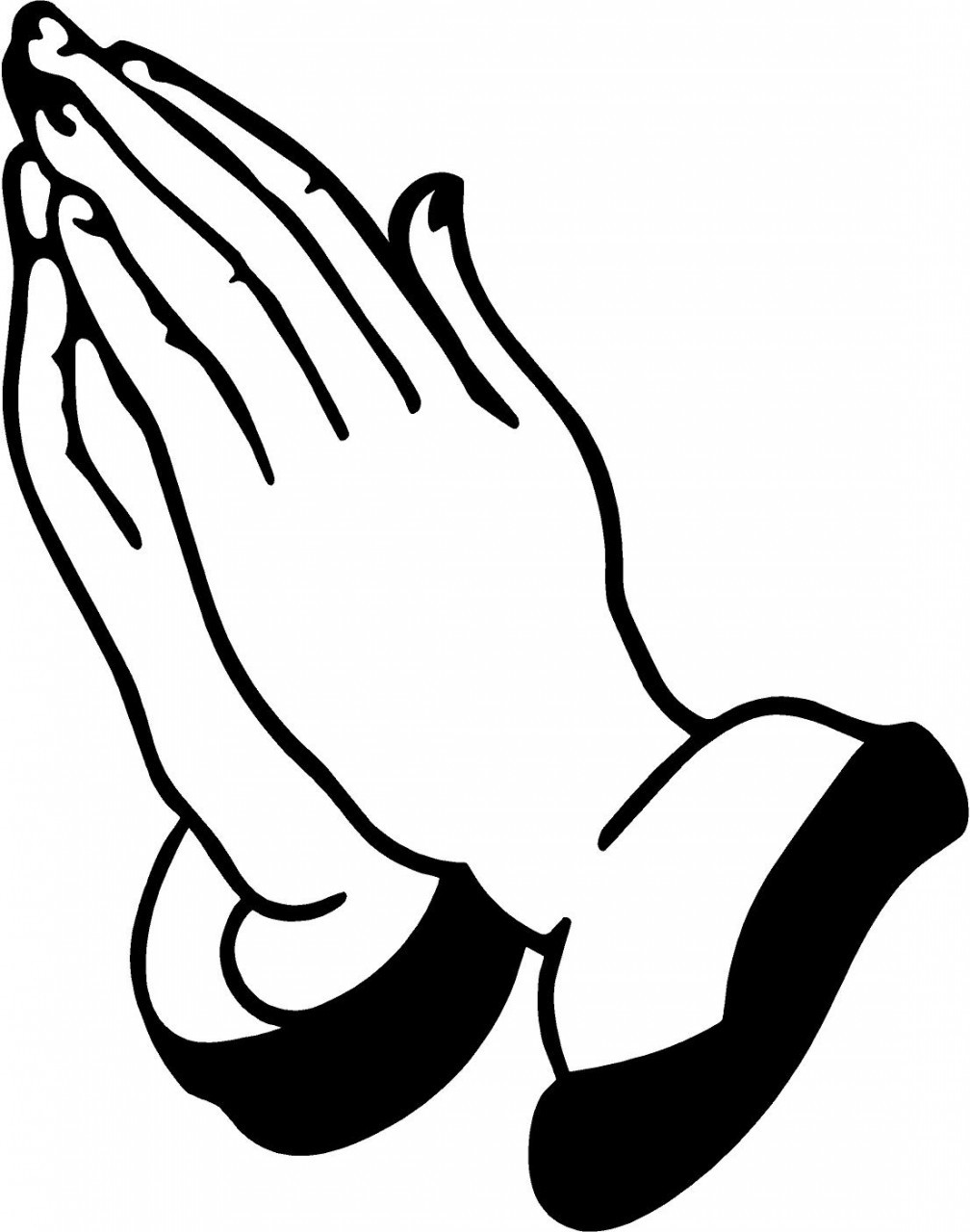 Clip Art Of Praying Hands - Cliparts.co