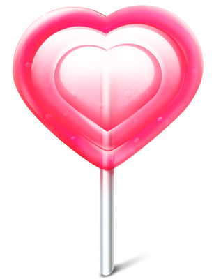 Heart Candy Clipart Valentine's Day Sweet Icon | Just Free Image ...