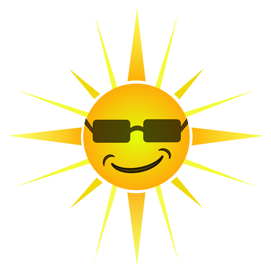 Happy Sun Clip Art Images & Pictures - Becuo