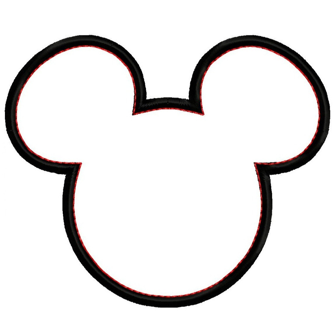 Mickey Mouse Head Clip...