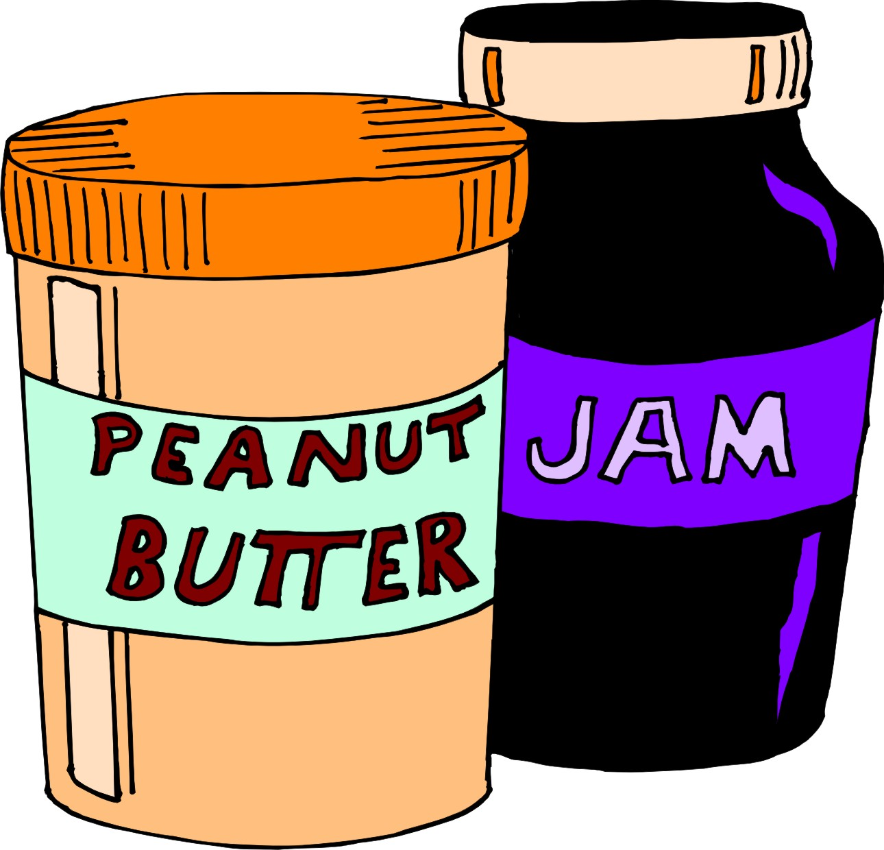 how to make a jam sandwich pictures