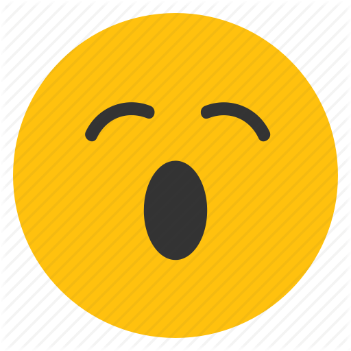 Emoticons, Open Mouth, Sleepy, Smiley, Tired, Yawn Icon ...