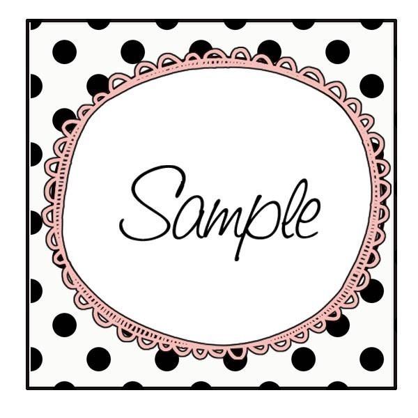 Free printable bake sale tags Keep Healthy Eating Simple