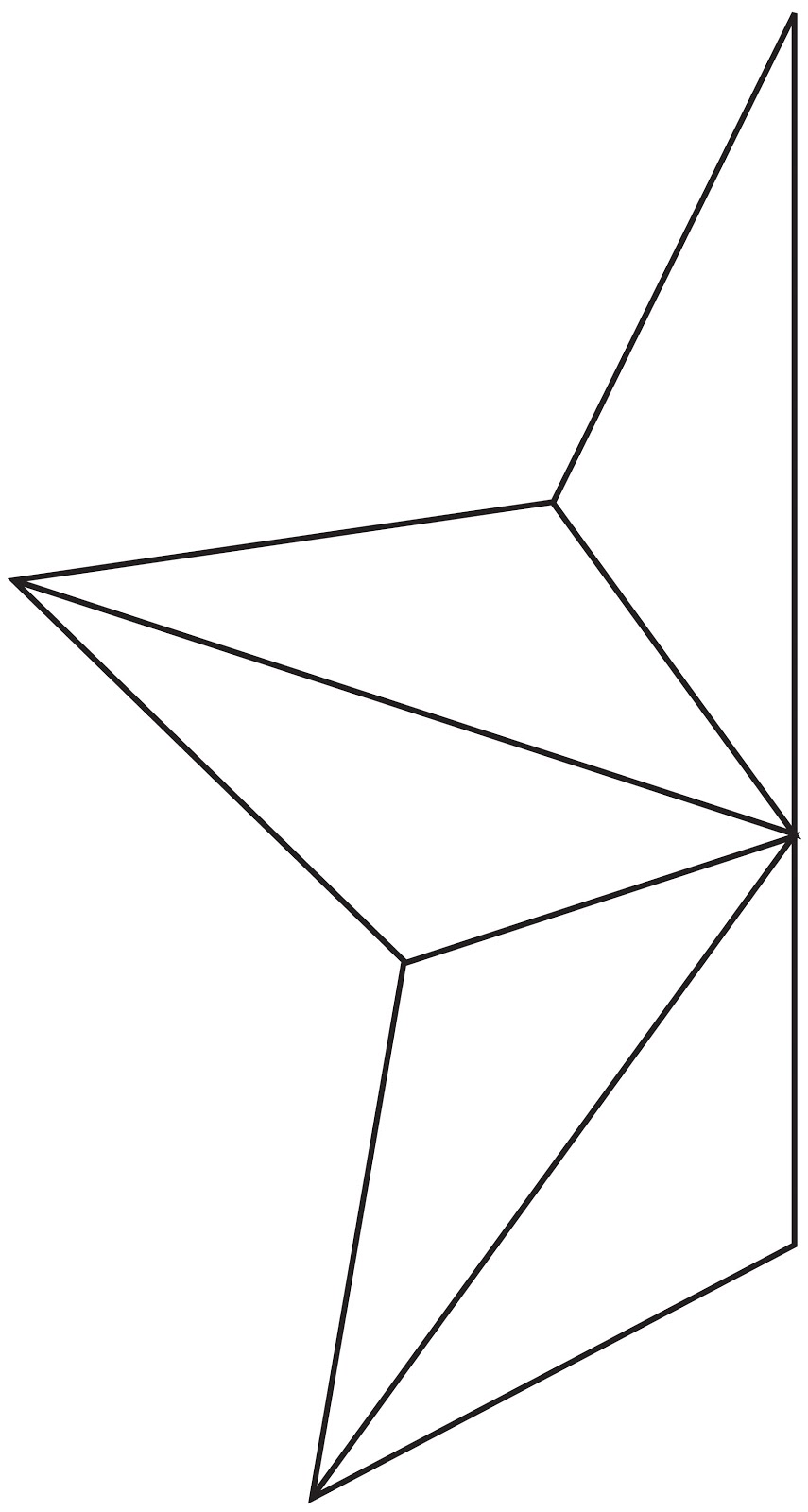 Large Star Template - Cliparts.co
