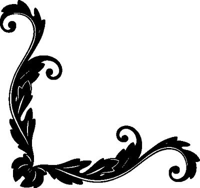 Antique,border,corner,flourish,flourishes,ornaments,scroll ...