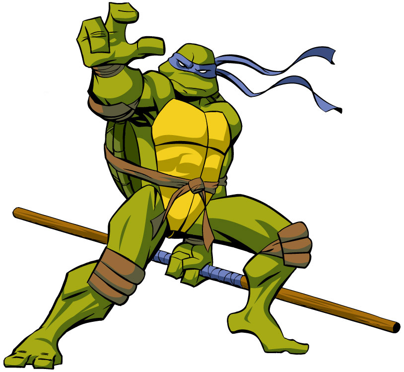 Cartoon pictures of turtles - Tortue ninja couleur ...