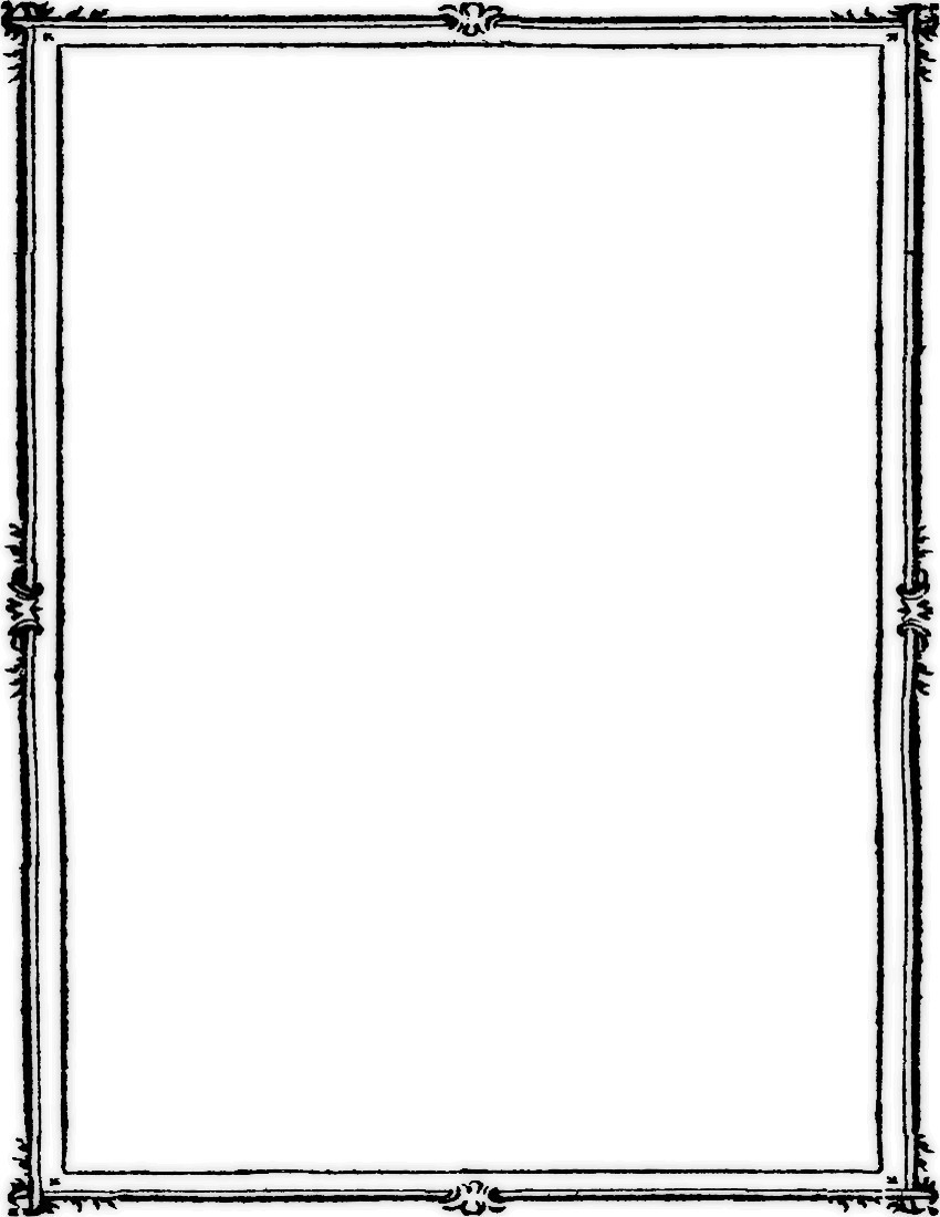 Elegant page borders and frames